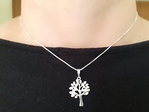 Colar Árvore da Vida - Prata