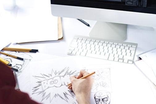 グラフィックデザイン、漫画、マンガ、アニメ