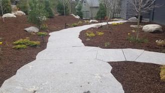 Custom Granite Walkway