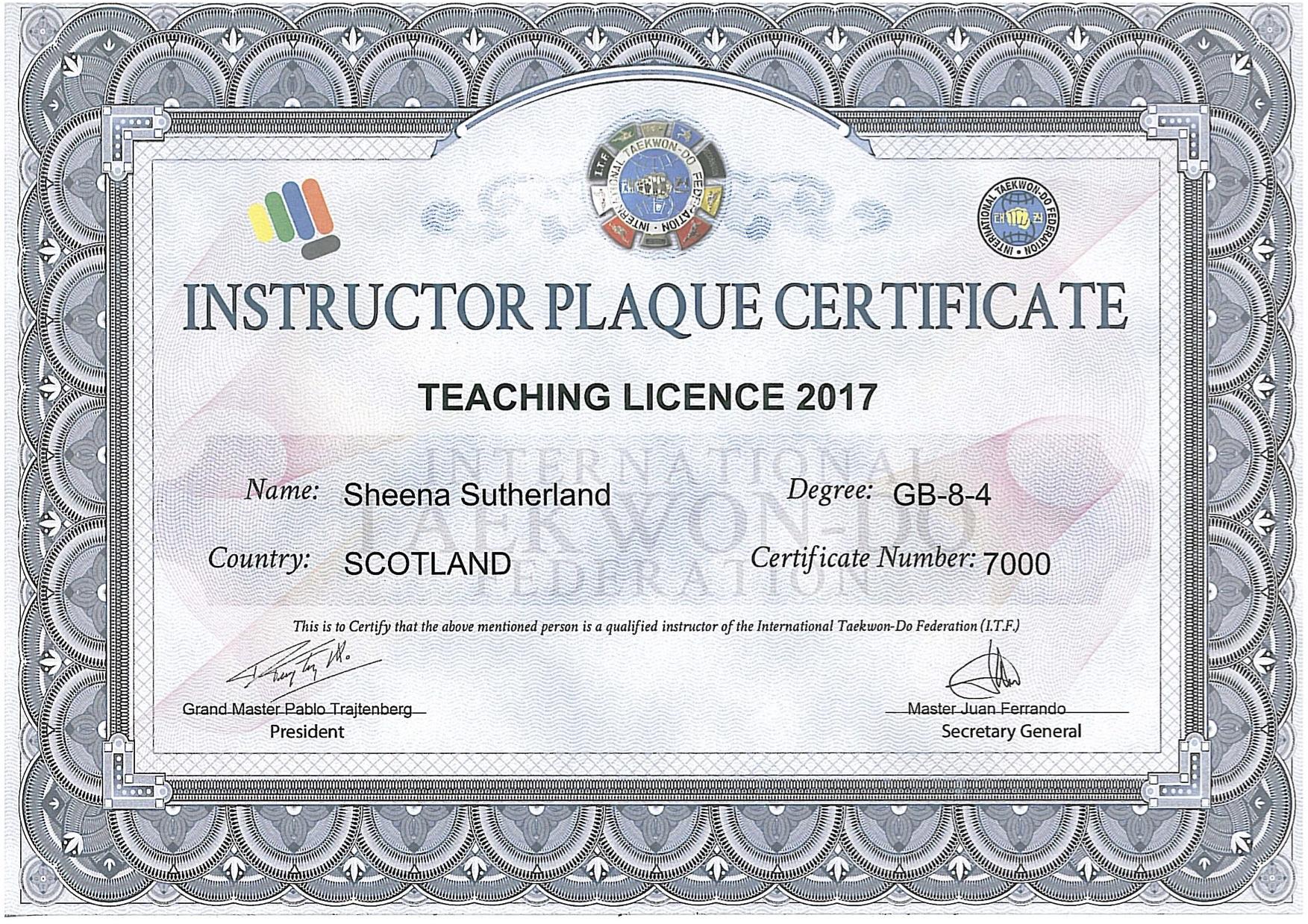 teaching plaque 17