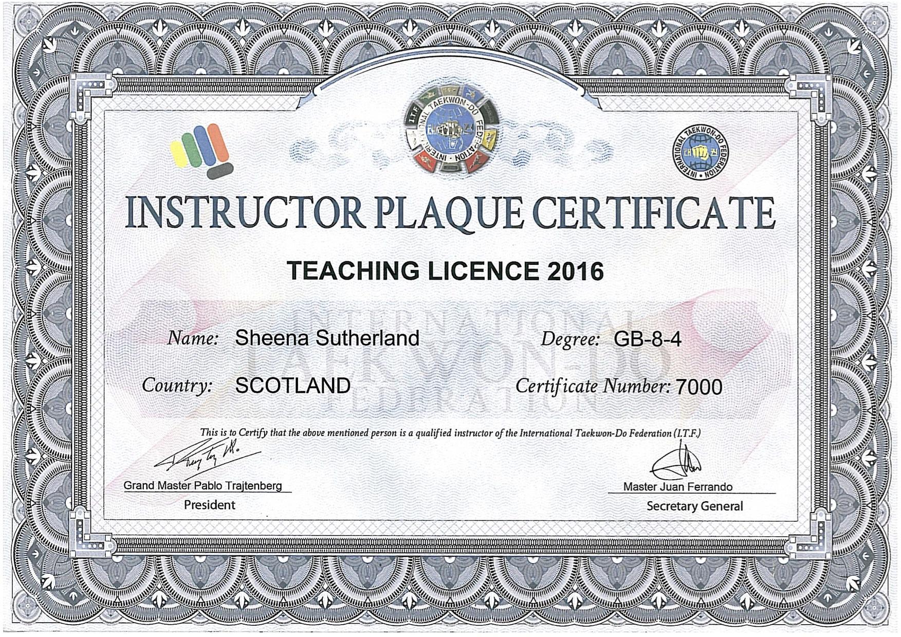 teaching plaque