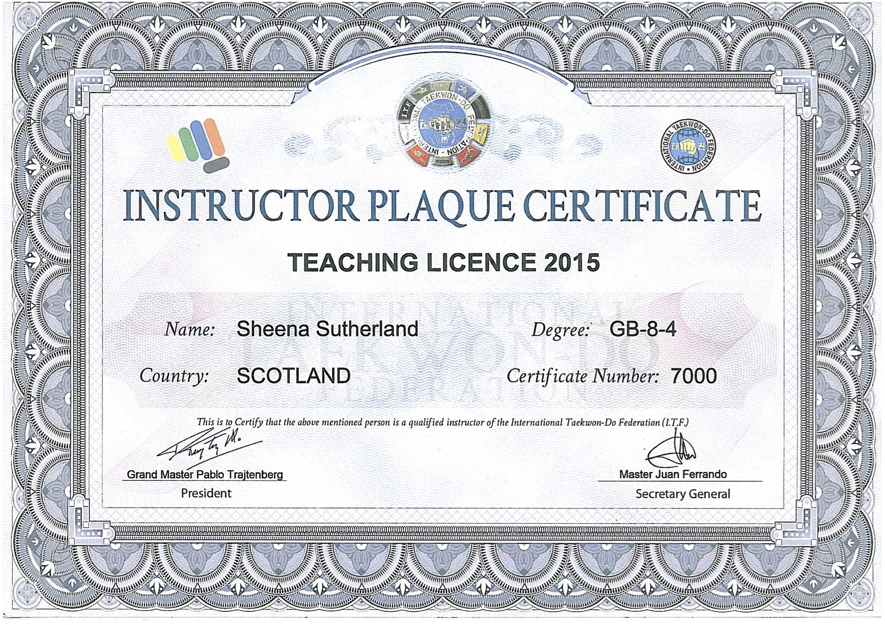 teaching plaque 15