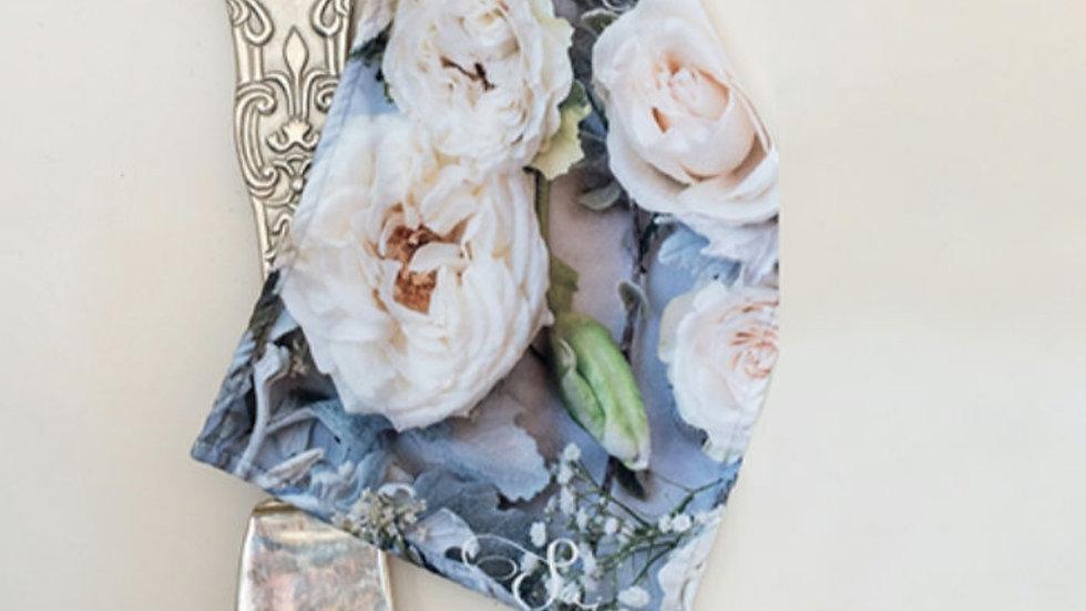 Afdroog Lappies - Cream rose