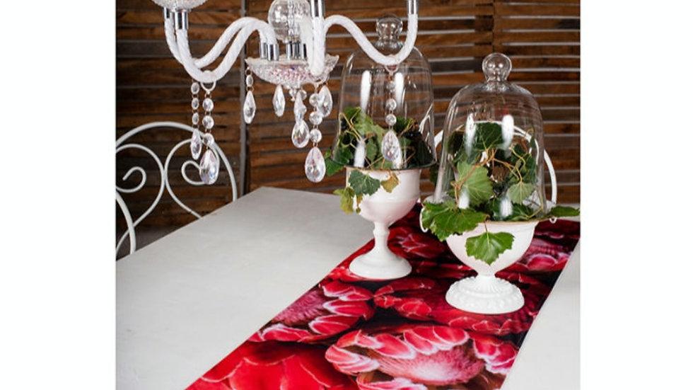 Tafel loper - Rooi Proteas