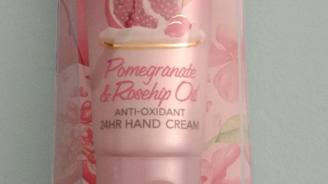Pomegranate en Rosehip oil hande stelletjie