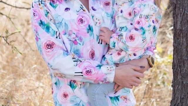 Dames Soft Shell Baadjie (Lig pink met skapies)