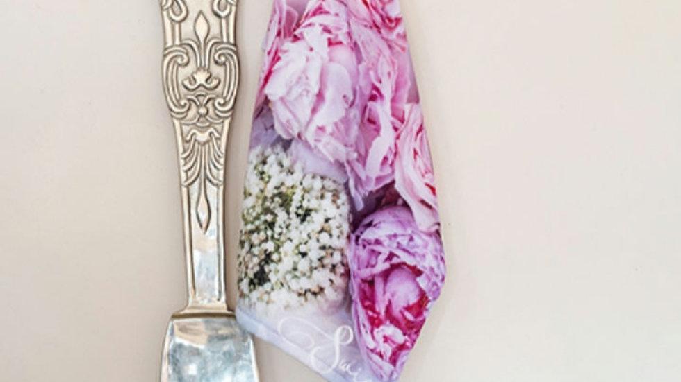 Afdroog Lappies - Pink Blomme