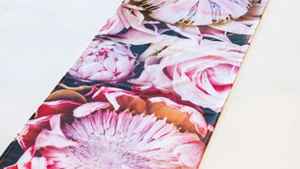 Tafel loper - Pastel Proteas en Rose