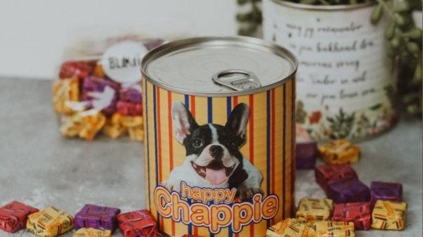 Happy Chappie blik
