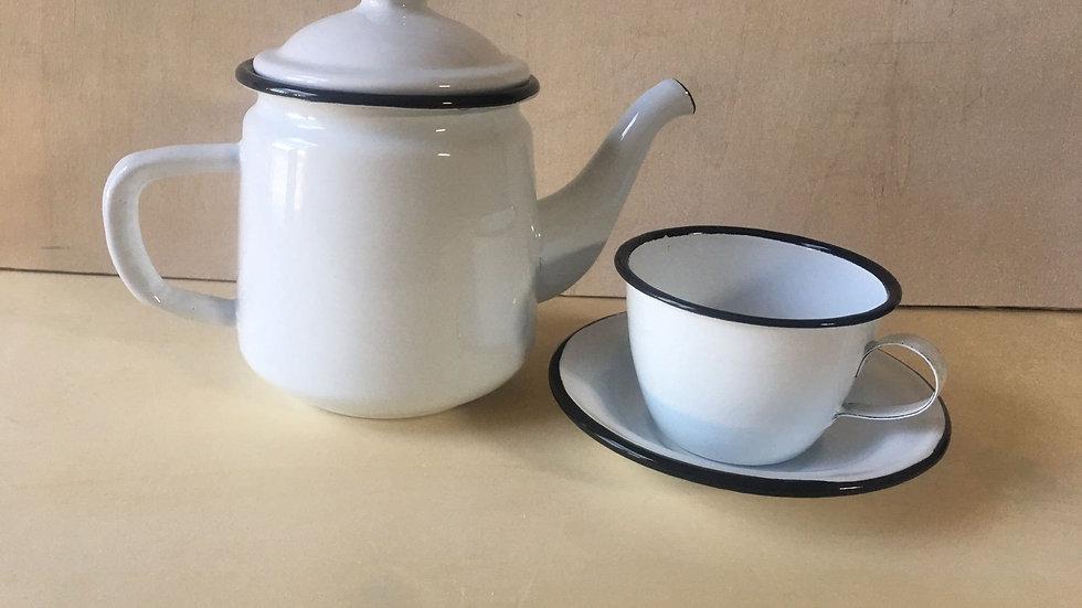 Tee koppie met piering