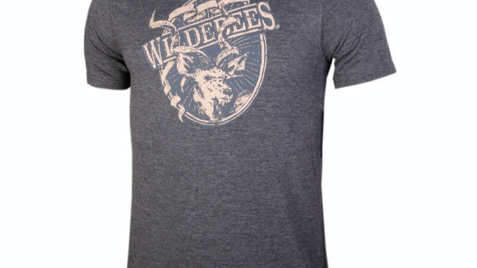 Wildebees mans themp - Charcoal