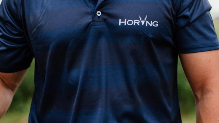Horing Navy Gesublimeerde Golfer
