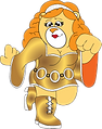Disco drag teddybear for Andrew.png
