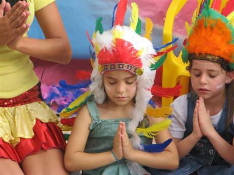 יום הולדת אינדיאני הפעלה אינדיאנית