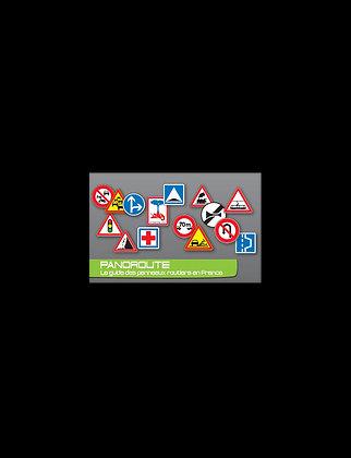 Réglette panneaux routiers