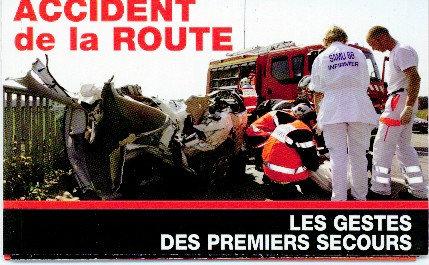 Réglette Accident de la route
