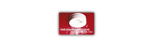Réglette prévention incendie