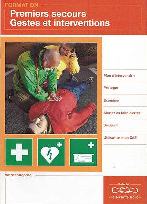 Illustré premiers secours
