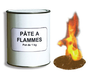Pâte à flamme 1L