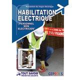 Livre habilitation non électricien H0B0