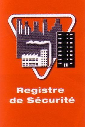 Registre de sécurité ERP 48 pages