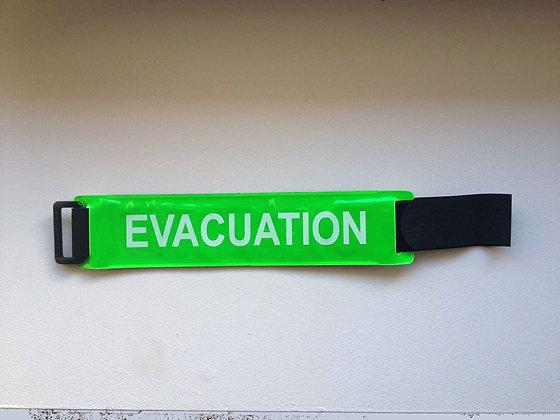 Brassard ajustable VERT EVACUATION