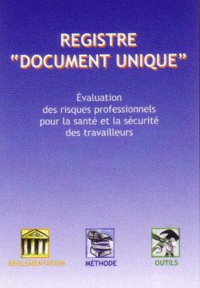 """Registre """"Document unique"""""""