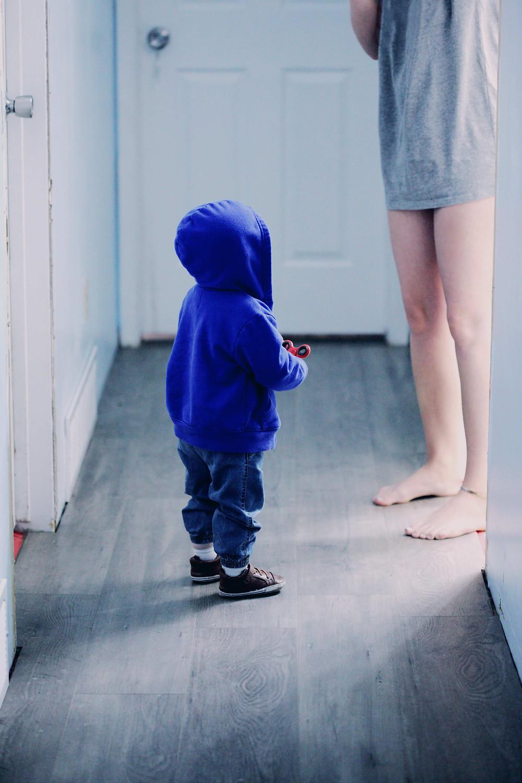 nuestros hijos nos observan siempre porque somos sus modelos de conducta
