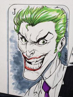 Joker color 11 x 14