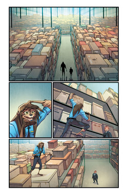 Sasquatch Detective #3 Page 23