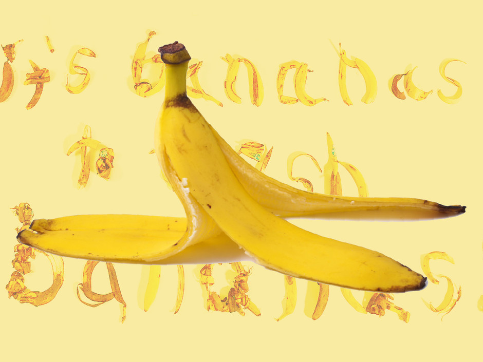 It's Bananas to Trash Bananas