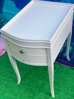 Chic Pink Side Table