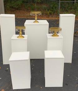 White Pillars:  $25 Each