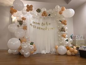 Full Organic Balloon Arch: $280