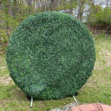 Round Grass Wall