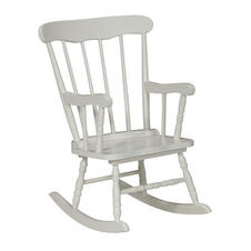 White Adults Rocking Chair