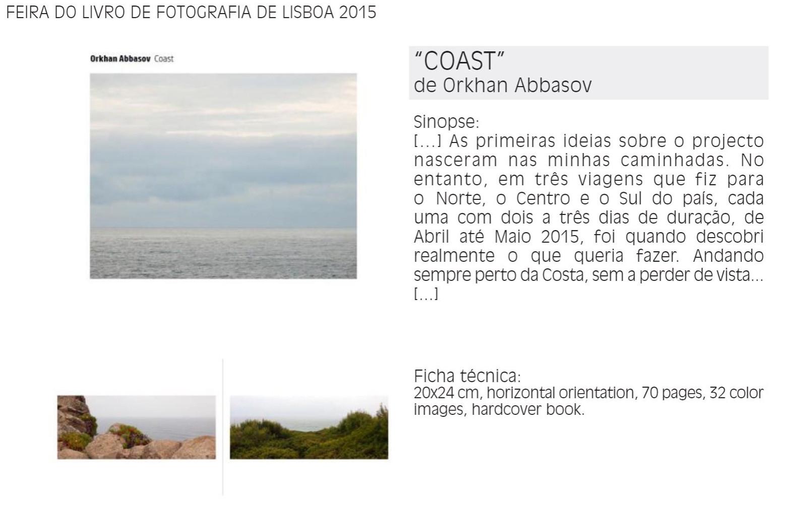 COAST - Lisbon Book Fair