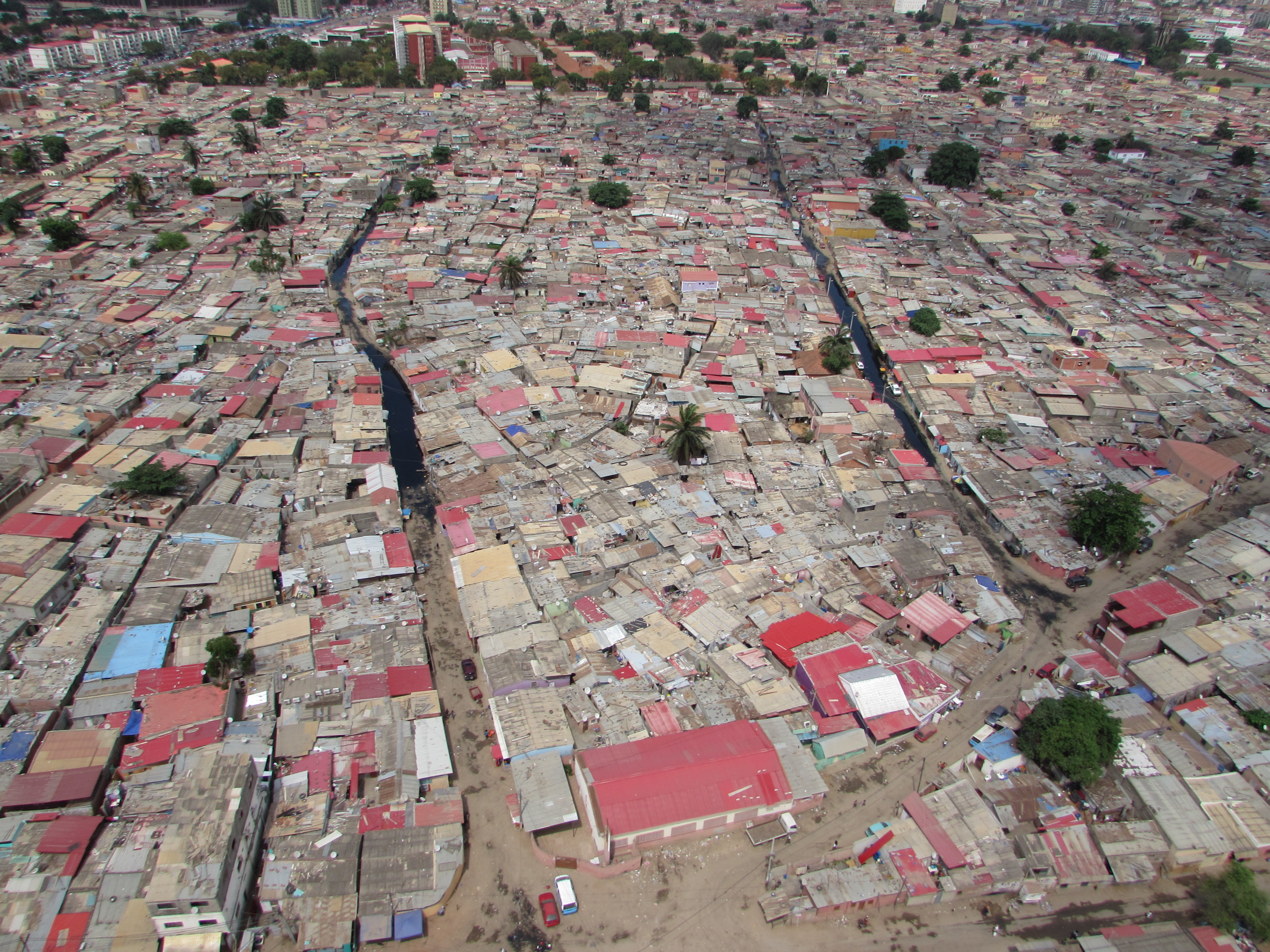 Vista Aérea Sobre Rangel