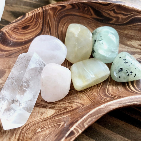 Heart + Intuition + Alignment Crystal Bundle