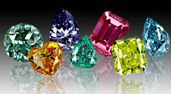 Treated Fancy Color Diamonds