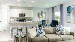 Azalea Kitchen and Living Room