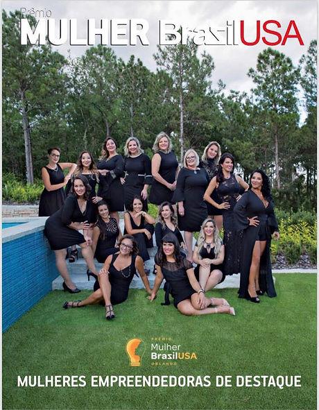Capa Revista Mulher Brazil USA