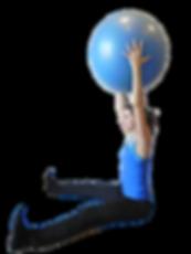 Pilates Uxbridge - Ball Exercise