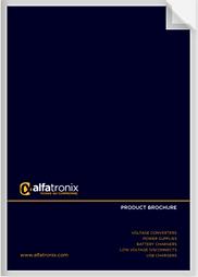 Alfatronix Ltd Brochure
