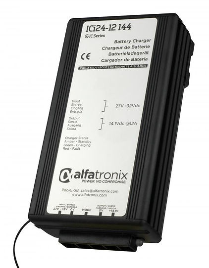 dc-dc battery chargers