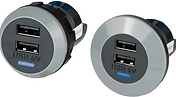 USB Chargers Bus and Car