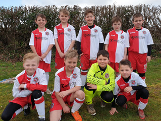 Alfatronix are sponsoring the Poole Town Wessex Colts Under 9s Football Team