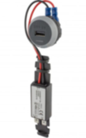 Chargeur USB ferroviaire