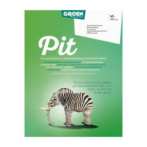 Pit // Magazine Groen