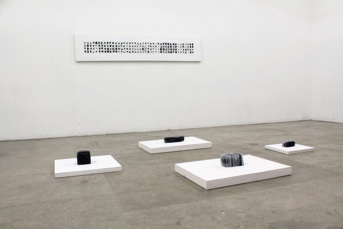 Temporary Objects (Installation View)